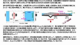 国土地理院の西村卓也さんのチームが地震を予知できる現象を観測してい...