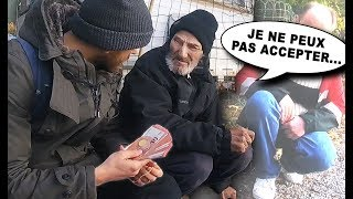 Social Experiment #50 : WE DISTRIBUTE 12000 TO HOMELESS PERSONS