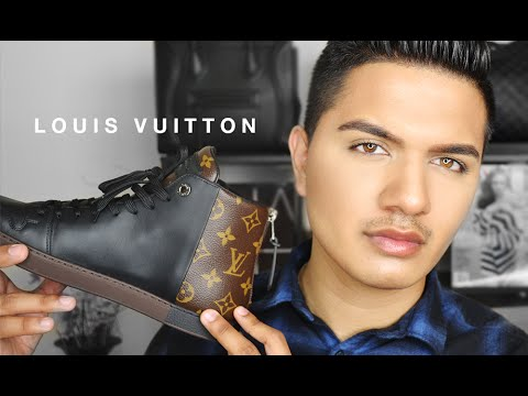 Louis Vuitton Line Up Sneaker.. and why I don't care for LV!