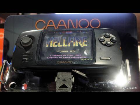 Caanoo Network Handheld Gaming Console from GPH  and fungp at E3 2010 - BWOne.com