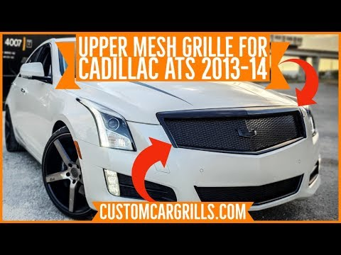 How-To Make an Upper Grill for a Cadillac ATS 2013-14 Installation by customcargrills.com