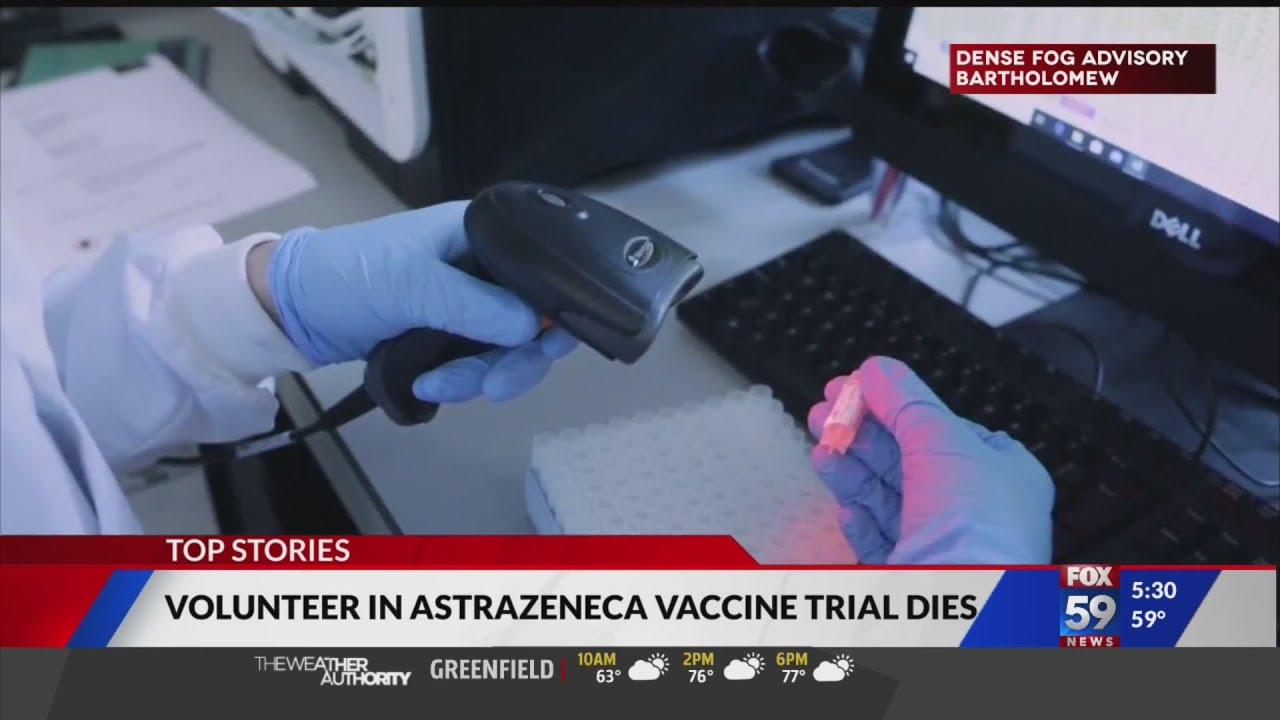 Volunteer in COVID-19 vaccine trial dies - FOX59 News