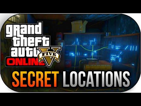 GTA 5 Online - Space Docker Shed,Loratory & More Secret Locations New ...