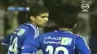 محمد الشلهوب يسجل هدفين كلها من فاول أمام الشباب