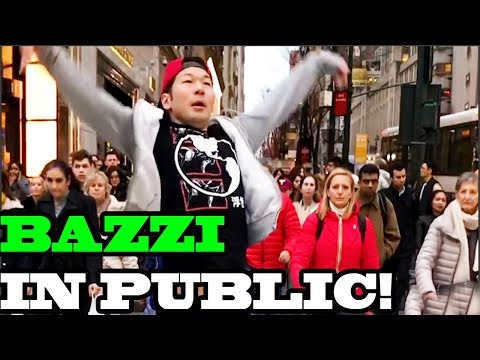 "Bazzi - ""Mine"" - SINGING IN PUBLIC!!"