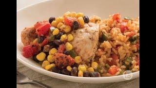 Salsa Chicken - Fast Salsa Chicken and Rice Recipe