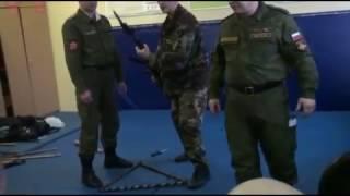 Курс ножевого боя для военной разведки  Systema Spetsnaz Vadim Starova in Army