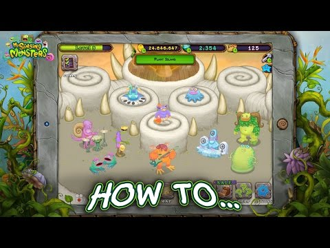 My Singing Monsters - How To Use Composer Island