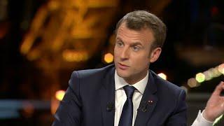 Syrie, Notre-Dames-des-Landes, SNCF: une interview musclée pour Emmanuel Macron