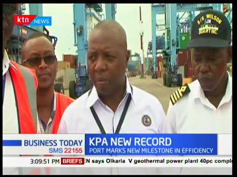 Kenya Ports Authority records the highest number of containers | Business Today