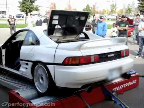 Gen IV 3SGTE Powered Toyota MR2 Turbo on Dyno