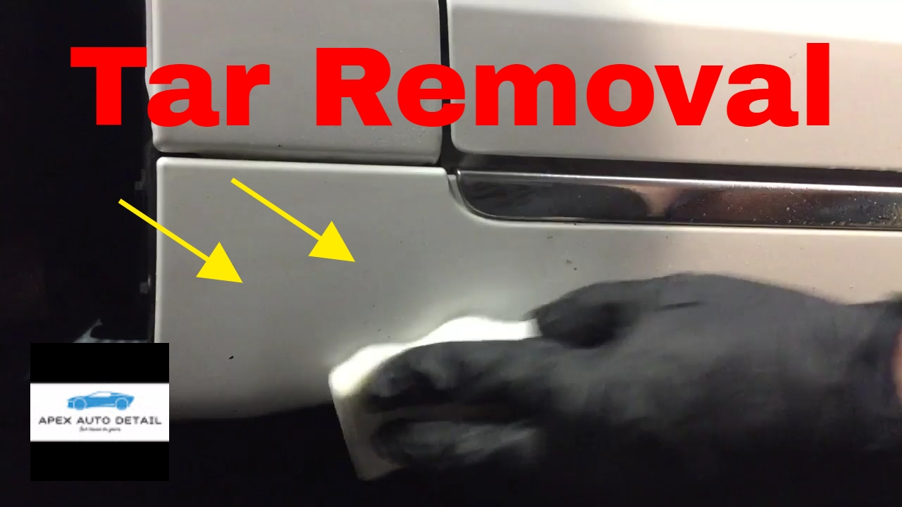 How To Remove Stubborn Tar And Road Grime From Your Car Paint Youtube