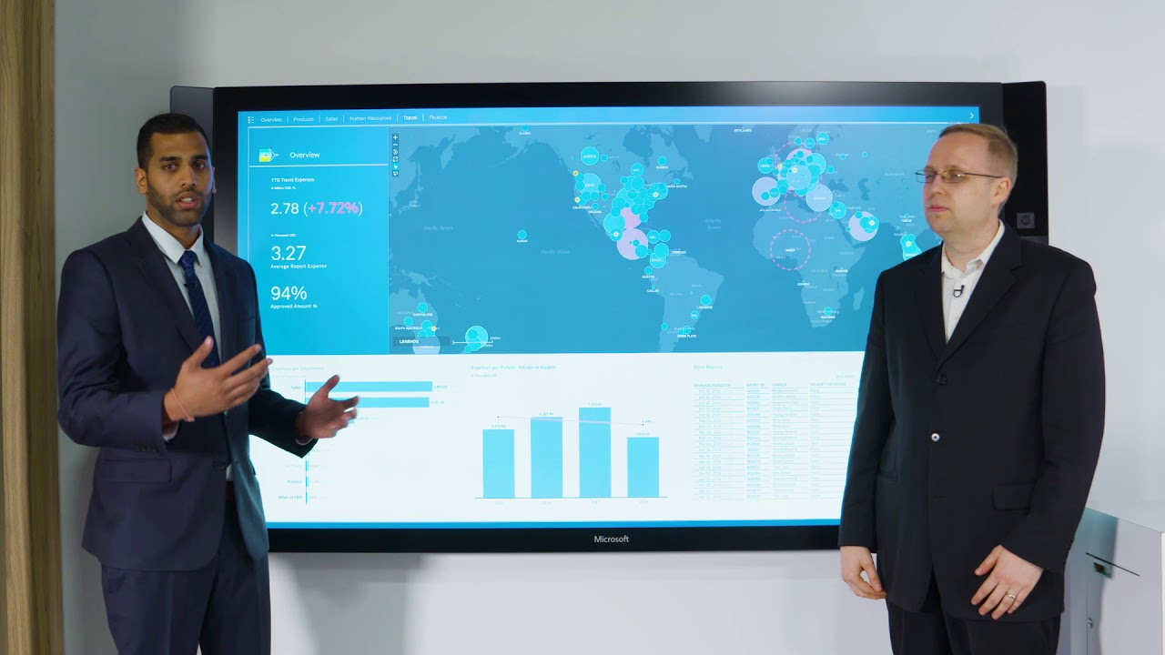 Exploring Surface Hub with the SAP Digital Boardroom team