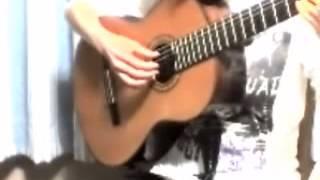 ジブリ作品【おもひでぽろぽろ】より『愛は花、君はその種子』 〔ソロギターで弾くスタジオジブリ作品集 江部賢一〕より.