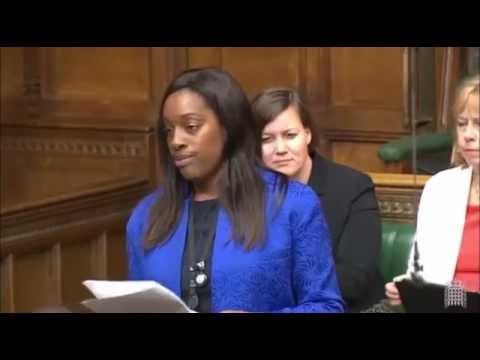 Kate Osamor MP - maiden speech