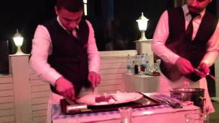 Fish restaurant at Istanbul