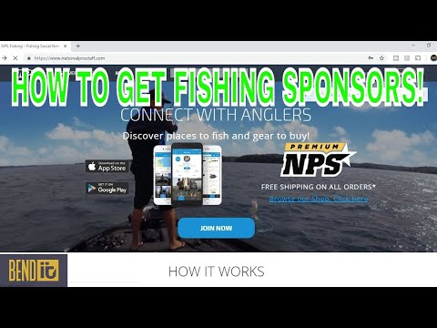 How To Get Fishing Sponsors/ ProStaff