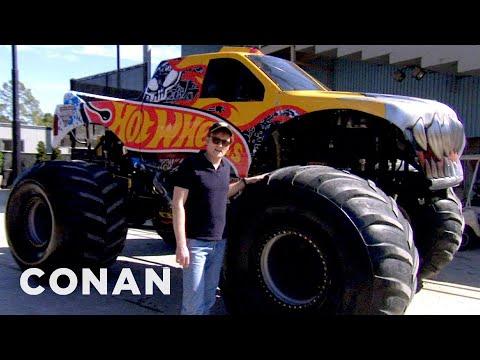 Conan Drives Monster Trucks - CONAN on TBS