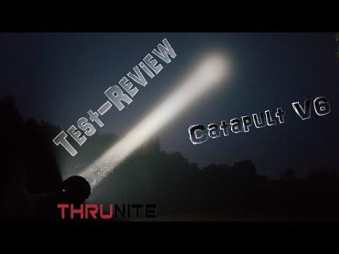 ThruNite® Catapult V6 Mini Thrower Test-Review Teil 2/2   HD+   Deutsch