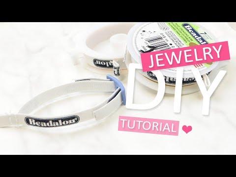 DIY Tutorial: Beadalon spool tamer – Zelf sieraden maken