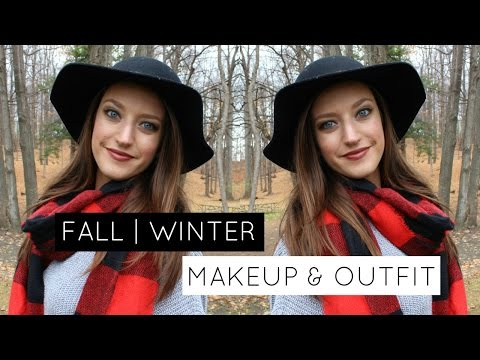 FALL & WINTER: Makeup and Outfit
