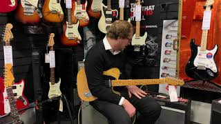 Fender American Ultra Telecaster Butterscotch Blonde Review - Rimmers Music