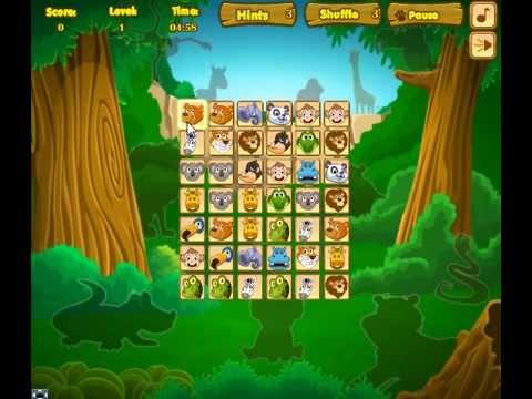 เกมส์ เกมส์จับคู่สัตว์ป่า2