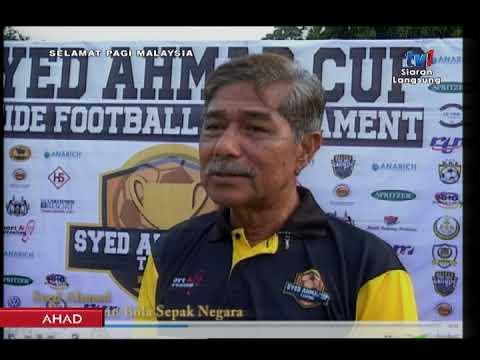SPM 2018 – BINGKISIN: KEJOHANAN BOLA SEPAK SYED AHMAD CUP [18 MAC 2018]