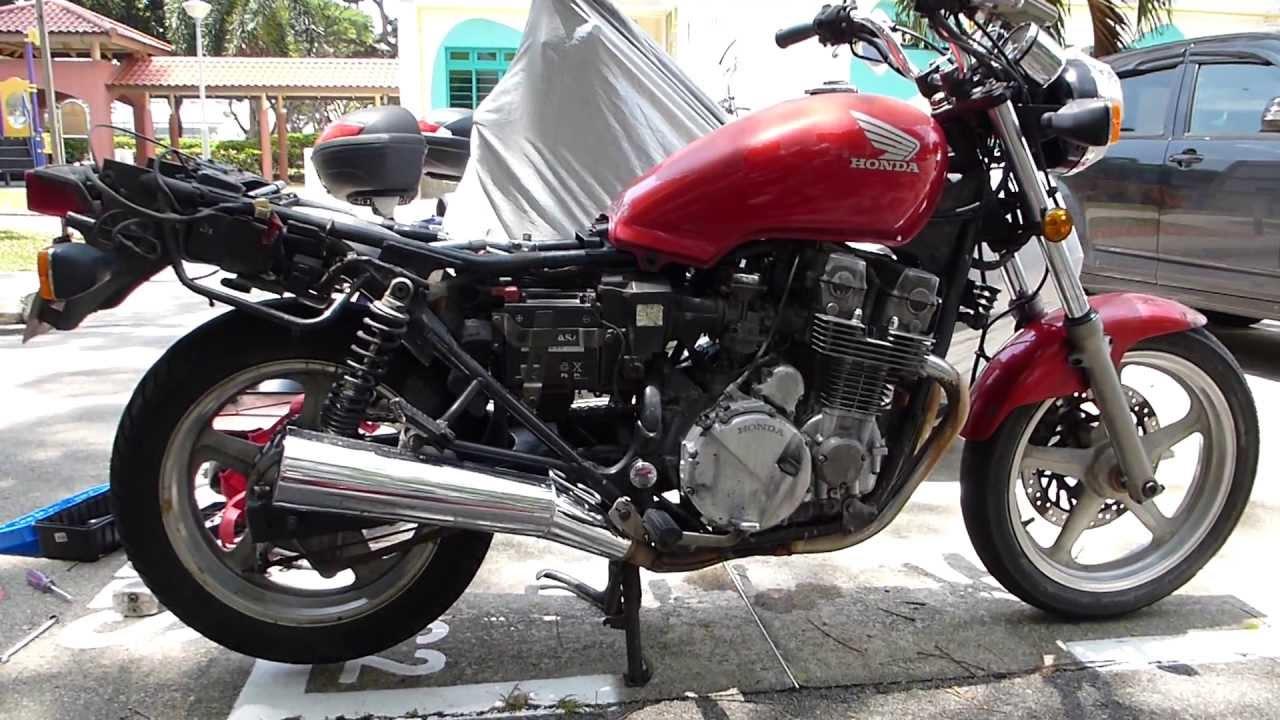 Honda CB750 P Stripped