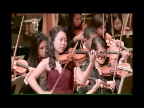 Jaclyn Thach with Oakland Symphony Youth Orchestra