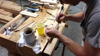 Gluing In Boxing For Traditional Moulding Planes