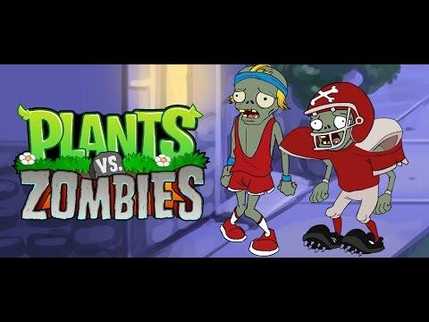 Plantas vs zombies animado (PARODIA) Halloween 2
