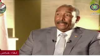لقاء تلفزيون السودان مع برهان