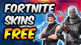 HOW TO GET * FREE * SKINS at Fortnite: Battle Royale!