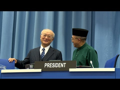 The IAEA's 61st General Conference comes to an end