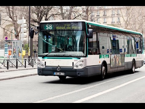 buses in paris france 2016 les bus paris youtube. Black Bedroom Furniture Sets. Home Design Ideas
