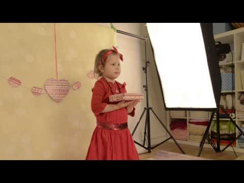 Christmas Shoot in Studio