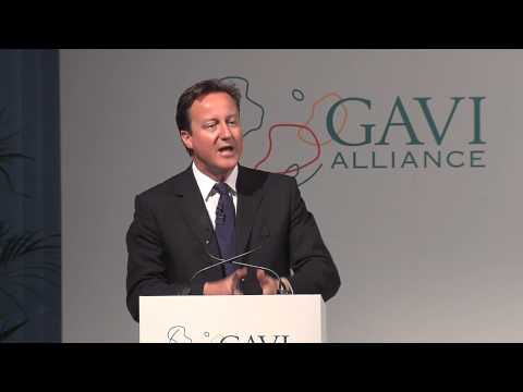 UK Prime Minister David Cameron (Pt 3 of 5) - Pledging conference for immunisation 2011