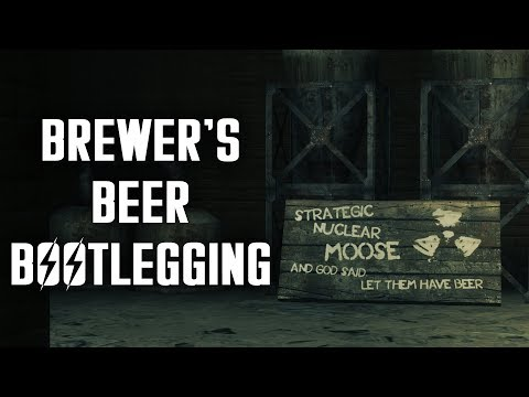 Brewer's Beer Bootlegging & Strategic Nuclear Moose - Fallout New Vegas Lore