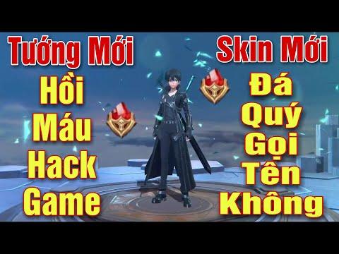 [Gcaothu] Tướng mới Allain cân 5 hồi máu như hack - Ra mắt Skin Kirito Hắc Kiếm Sĩ