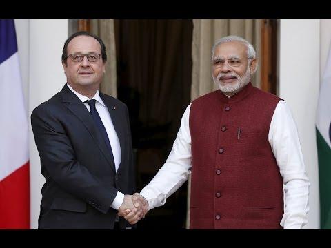 The News - A 10 billion dollar handshake with India!
