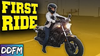 NEW Motorcycle Rider!? WATCH THIS!