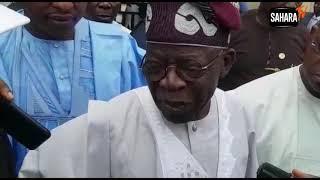 Tinubu Defends Buhari Over Ballot-Box Snatching Threat