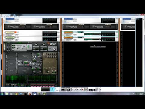 CV to Audio to CV with Thor and diagramming envelopes - Reason 6.5