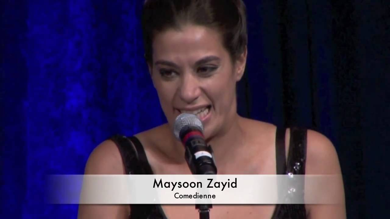 Maysoon Zayid performs at ATFP Fifth Annual Gala - YouTube