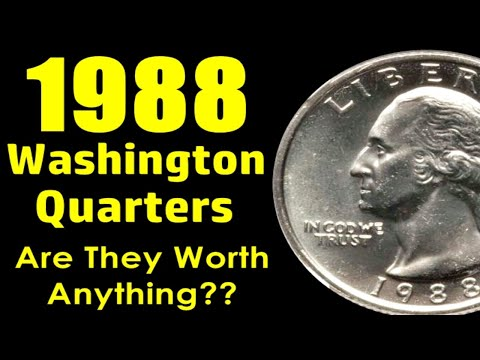 SCARCE 1988 Washington Quarter Worth As Much As $5,000?! - Do You Have This Coin?