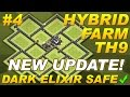 NEW UPDATE Town Hall 9 (TH9) Hybrid Farming Base Dark Elixir & Replays -Clash of Clans CoC Setup #4