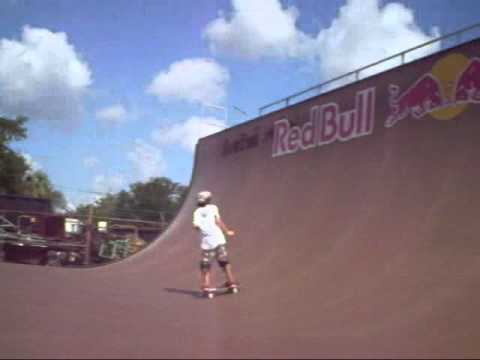 Skate Park Of Tampa Red Bull Ramp Youtube