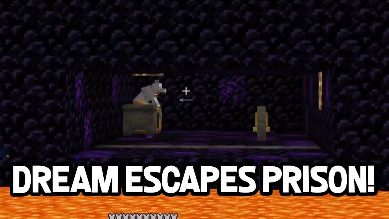 Download DREAM and TECHNOBLADE ESCAPE PRISON on Dream SMP