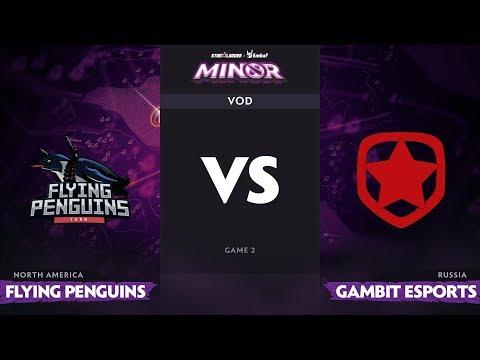 F Penguins vs Gambit - StarLadder ImbaTV Minor - Game 2